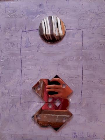 Két geometrikus forma/Dva geometrijska oblika/Two geometric shapes
